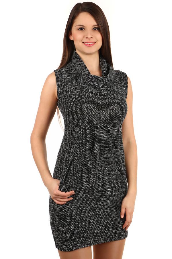 Dámské úpletové šaty s kapsami 697368e9cf