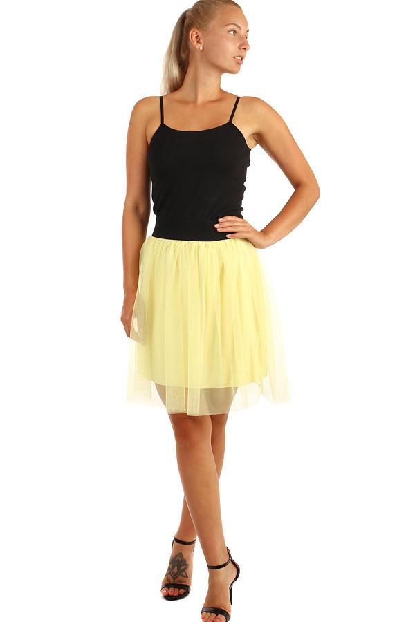 805a8e81dba Krátká dámská tylová sukně