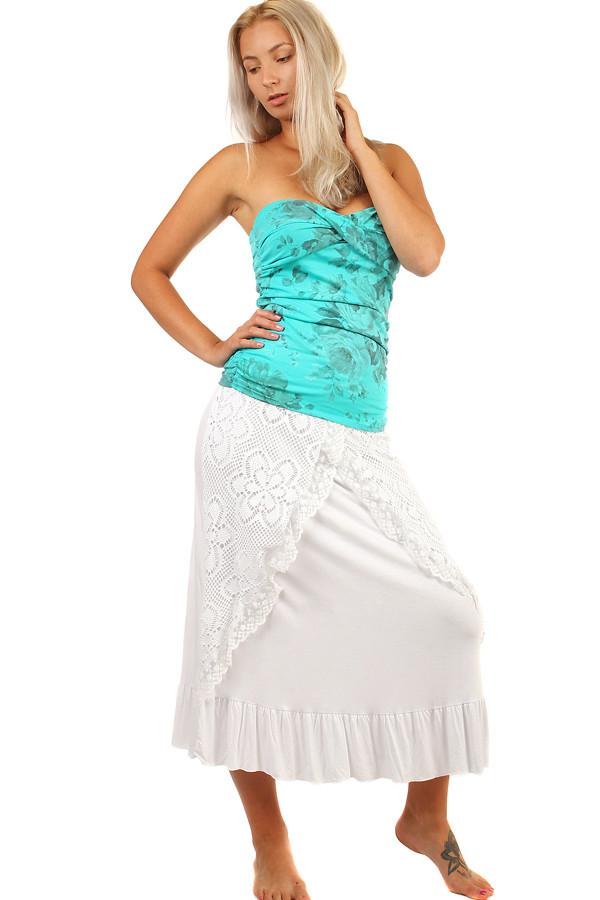 24cbc9e7ec88 Dámská romantická maxi sukně