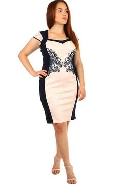 Romantické šaty s ornamentem - pro plnoštíhlé 2255 Kč 3855 Kč 4cc36c6f40