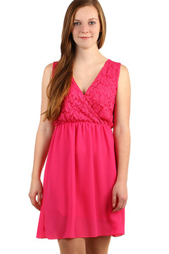 97ec8c760311 Šifonové šaty s krajkovým vrškem 499 Kč 895 Kč