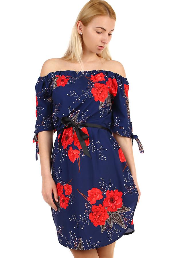 Volné plážové dámské šaty bez ramínek 32766fef76