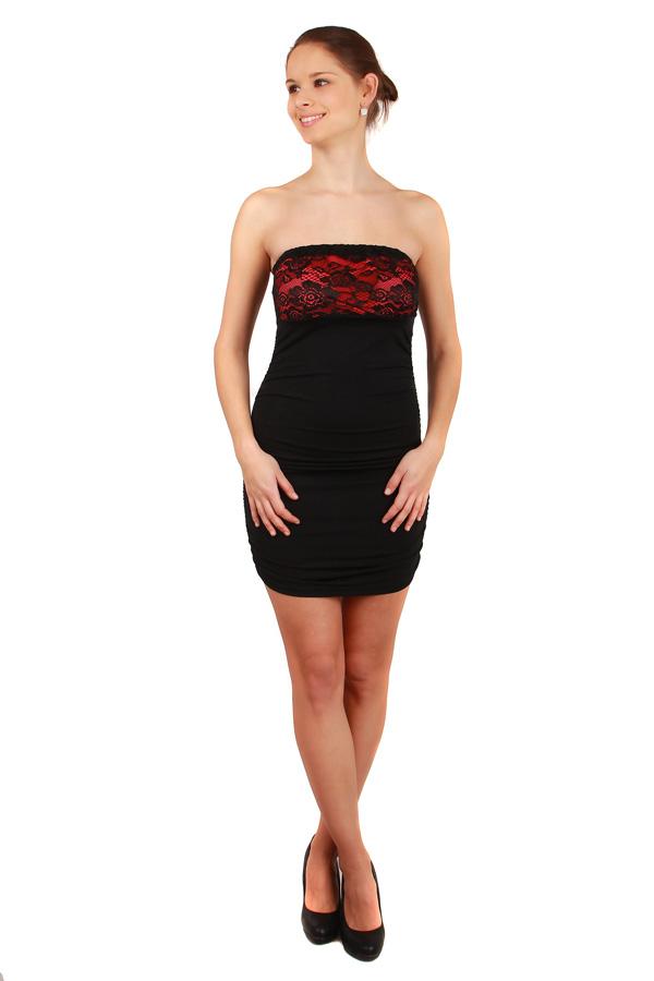 Dámské společenské šaty s krajkou - party šaty 6ff4b5be1f