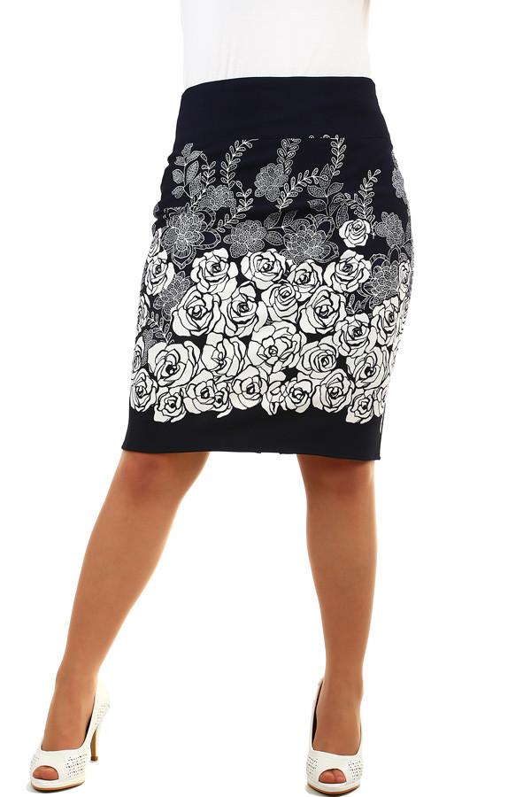 8c51307d86b4 Dámská pouzdrová sukně pro plnoštíhlé