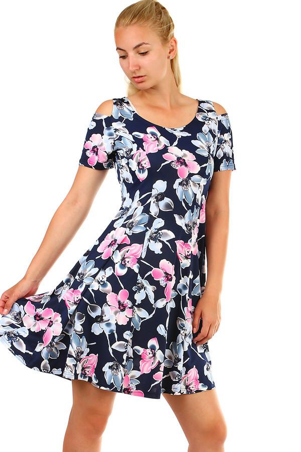 adcf7008de6 Dámské krátké šaty s potiskem