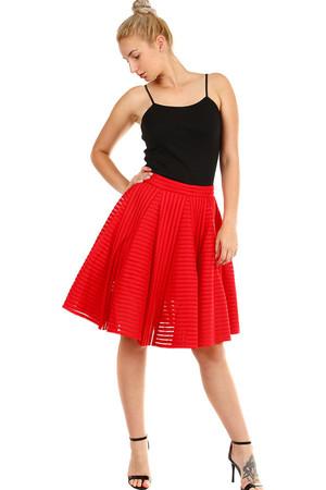 494a6d481be7 Dámská půlkolová skládaná sukně