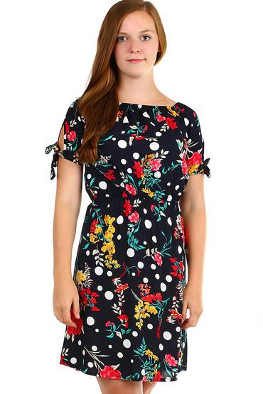 Dámské krátké letní šaty s potiskem 0db3ff1487