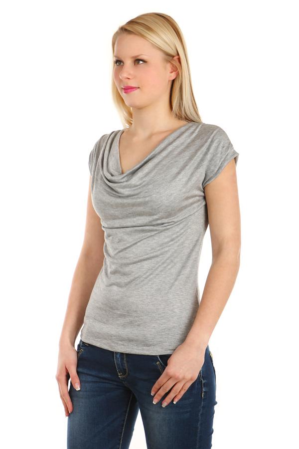 Dámské elegantní tričko 2d3bb76038