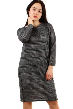 e1035a6a32dc Luxusní pletené šaty dámské šedé xl