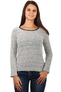 Dámský svetr s vykrojenými zády a4c78c2bee