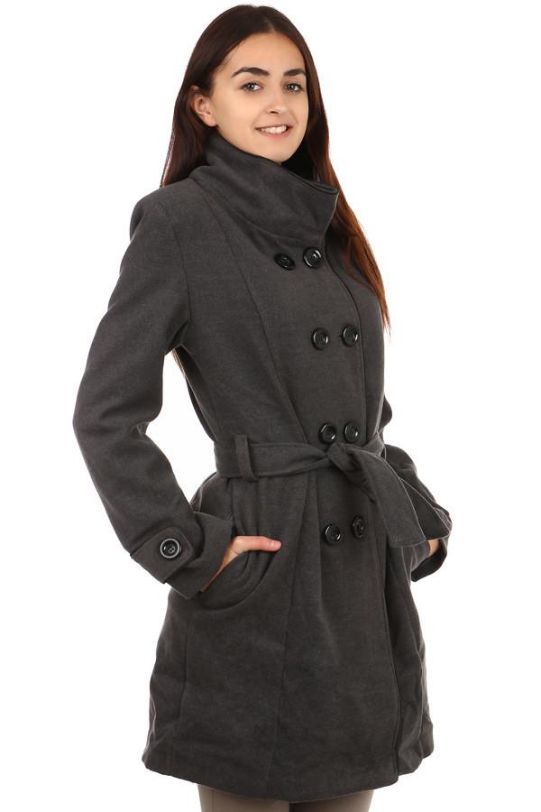 Dámský zimní kabát - i pro plnoštíhlé c775a37491