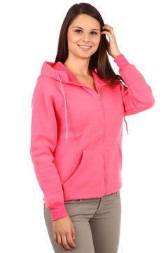 růžová Dámská mikina s potiskem na zádech 399 Kč 5a0cd86052