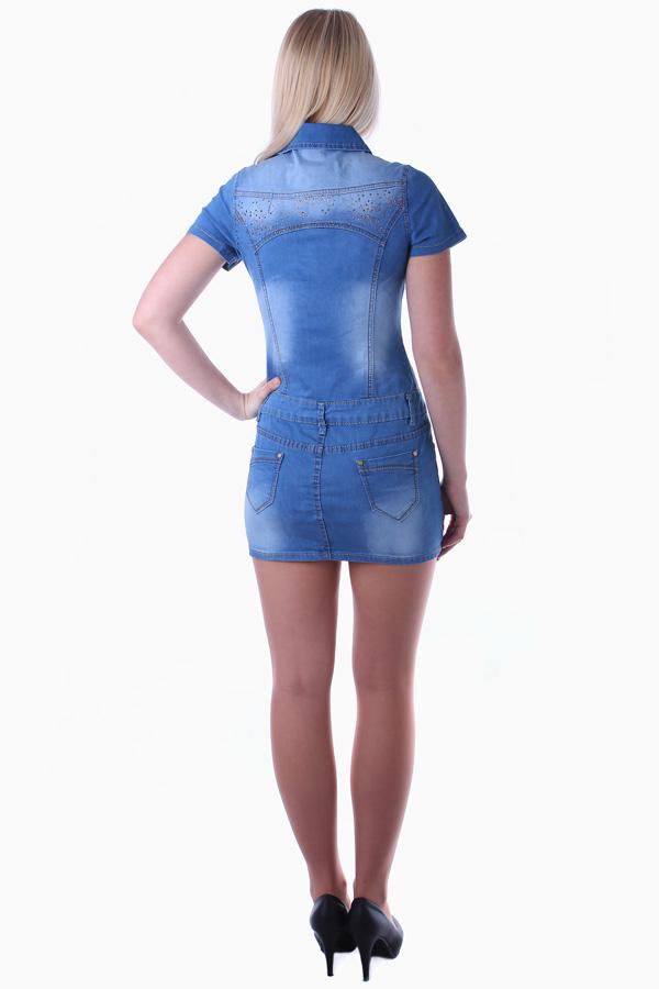37e29262280f Může se Vám také líbit. Dámské riflové šaty ...