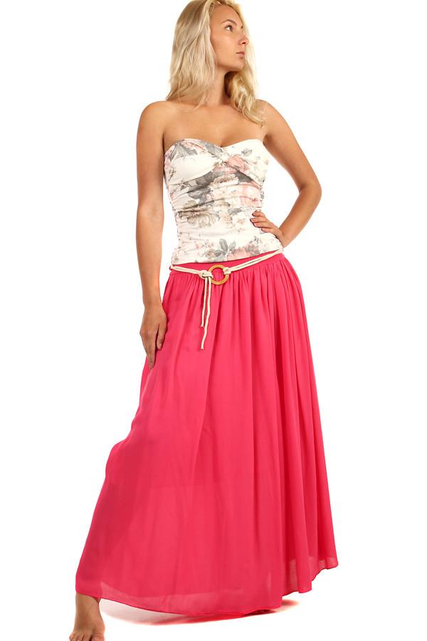 314dca0f039 Romantická dámská maxi sukně