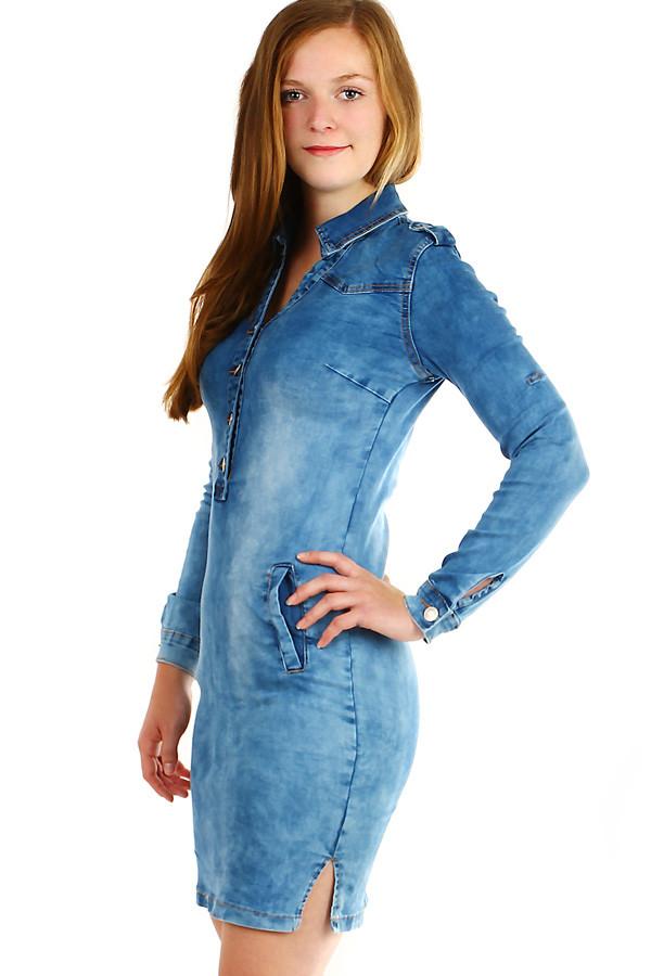 9b0a0b386a64 Může se Vám také líbit. Dámské džínové šaty ...