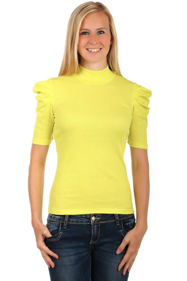Dámské elegantní tričko s rolákem 1875371b25